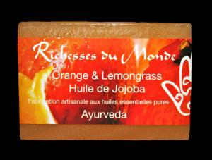 Savon Orange & Lemongrass
